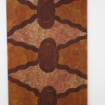 Tim Leura,<br />Honey Ant Dreaming 1976<br />Synthetic polymer on cotton canvas,<br />125 x 78.5cm