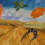 Road to Bongolia 2010 Oil on canvas 150 x 210cm