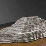 Christian de Vietri<br />Superpit<br />2008<br />Aluminium<br />112 x 56 x 18cm